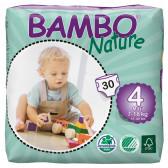Еднократни еко пелени размер: 4, 30 бр. Bambo Nature 31149