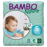 Еднократни еко пелени размер: 5, 27 бр. Bambo Nature 31150