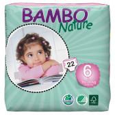 Еднократни еко пелени размер: 1, 22 бр. Bambo Nature 31151