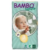 Еднократни еко пелени размер: 3, 66 бр. Bambo Nature 31154