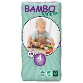 Еднократни еко пелени размер: 1, 60 бр. Bambo Nature 31155
