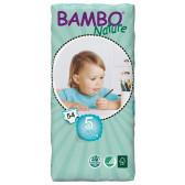 Еднократни еко пелени размер: 5, 54 бр. Bambo Nature 31156