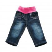 Памучни дънки за бебе момиче SALT AND PEPPER 31263