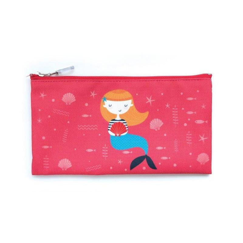 Чантичка за храна, морска звезда, 10 х 20 см, цвят: Червен  3135