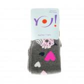 Плътен чорапогащник за момиче YO! 31476