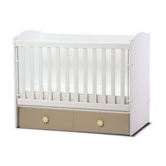 Бебешко легло тони с подвижна решетка Дизайн Бейби 32081