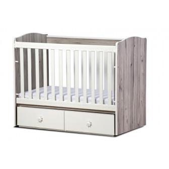 Бебешко легло тони с 2 решетки Дизайн Бейби 32124