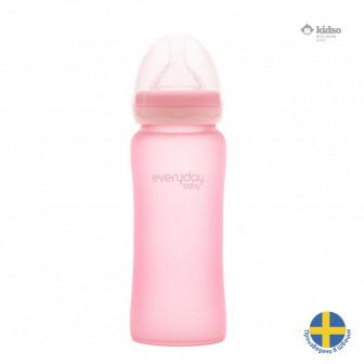 Стъклено шише с противоударно покритие. швеция Everyday baby 32306