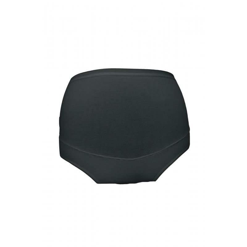 Памучни бикини за бременни  черни, размер XL  3238