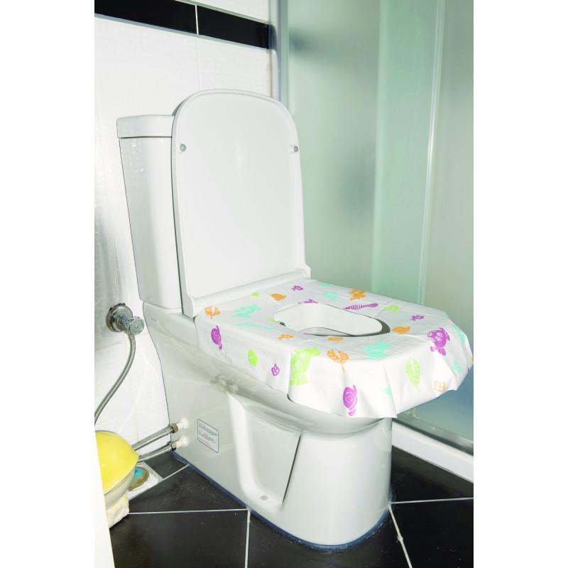 Протектори за тоалетна седалка за еднократна употреба, 10 бр.  3241