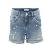 Дънкови къси панталони за момиче Name it 32433