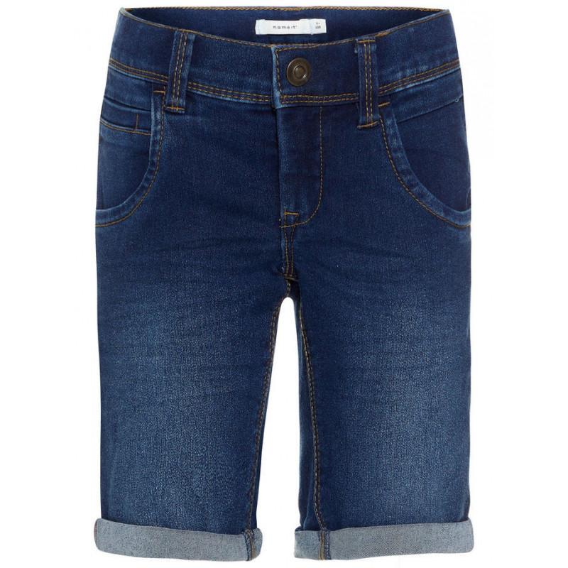 Къс дънков панталон за момче  32437