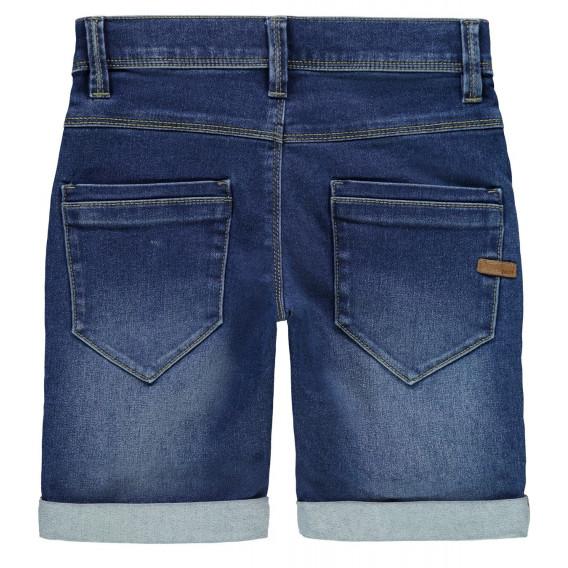 Къс дънков панталон за момче Name it 32438 2