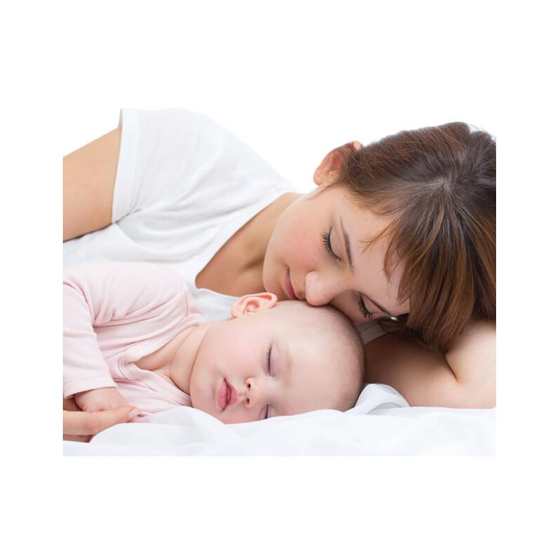 Бебешка възглавница, 35 х 45 см с антибактериални и антиалергични силиконови фибри  3263