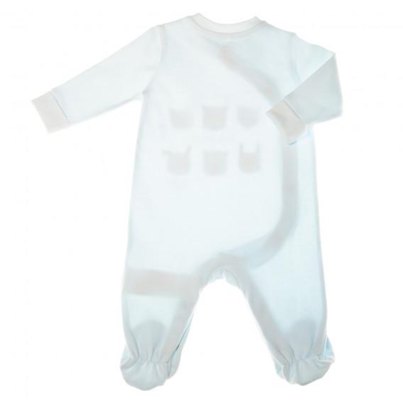 Памучен гащеризон с дълъг ръкав за бебе момче Chicco 32677 2