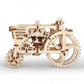 3D Механичен пъзел трактор Ugears 3289