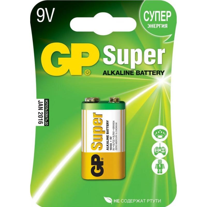 Батерия GP 6LR61/1604A, 9V, 1 бр.  3293