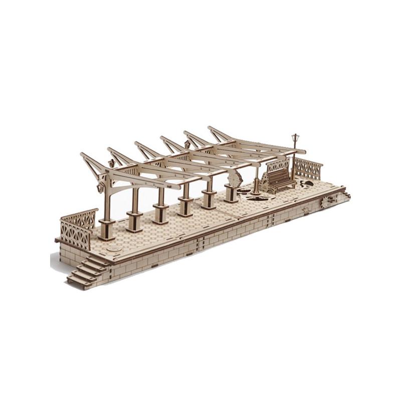 3D Механичен пъзел гара  3301