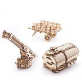 3D Механичен пъзел Комплект добавки за камион UGM-11 Ugears 3304