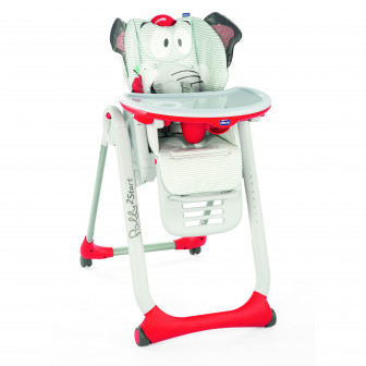 Стол за хранене, Polly 2 start baby elephant Chicco 33159