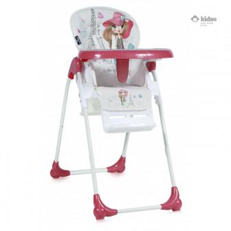 Стол за хранене, Oliver pink gir Lorelli 33180