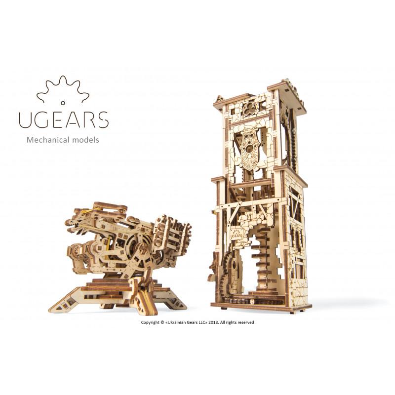 3D Механичен пъзел Кула с арбалет  3319