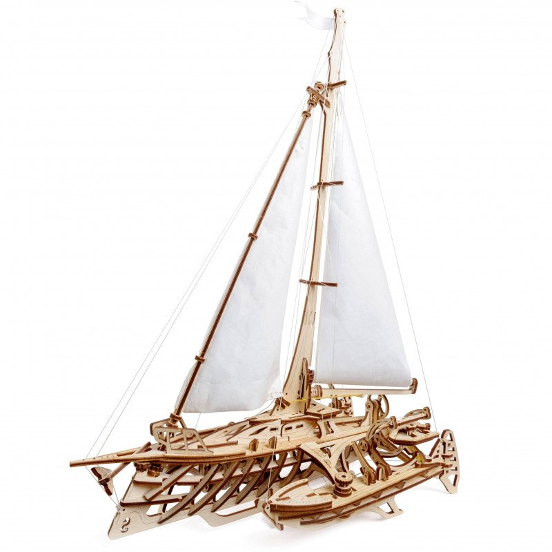 3D Механичен пъзел тримаран  3329