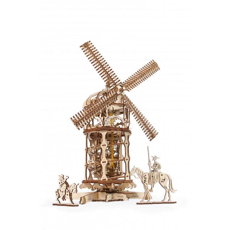 3D Механичен пъзел Вятърна мелница  3331