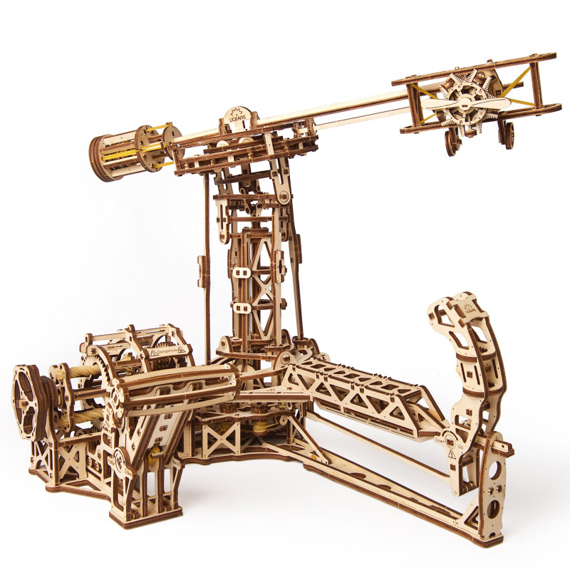 3D Механичен пъзел Авиатор  3332