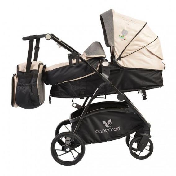 Комбинирана детска количка STEFANIE 3 в 1 CANGAROO 33664 3