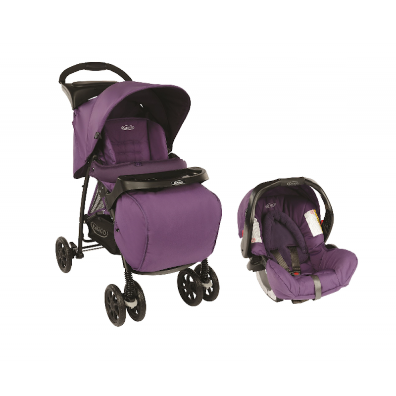 Комбинирана детска количка Mirage+ TS Blackberry 2 в 1  33685