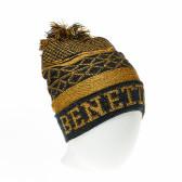 Зимна шапка за момче с пискюл Benetton 34111