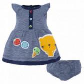 Памучна рокля с гащички за бебе Tuc Tuc 34347