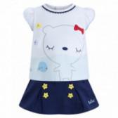 Комплект  за бебе момиче от 2 части Tuc Tuc 34380
