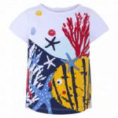 Памучна блуза с къс ръкав за момиче Tuc Tuc 34467