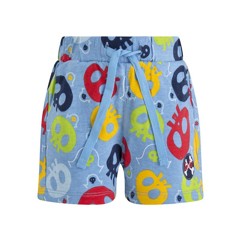 Памучен къс панталон за момче  34689