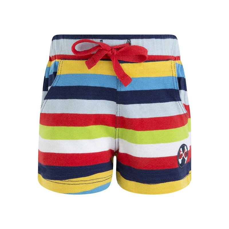 Памучен къс панталон за момче  34692