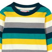 Памучна блуза с дълъг ръкав за бебе момче Boboli 349 3
