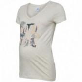 Памучна блуза с къс ръкав за бременни Mamalicious 35162
