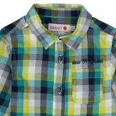 Памучна риза с дълъг ръкав за бебе момче Boboli 353 3