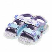 Светещи сандали за момиче, с картинки от филма frozen Disney 35920