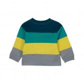 Памучна блуза с дълъг ръкав за бебе момче Boboli 360 2