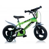 """Детско колело с помощни колела 12"""" Dino Bikes 36223"""