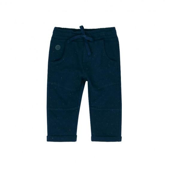 Памучен панталон за бебе момче Boboli 363