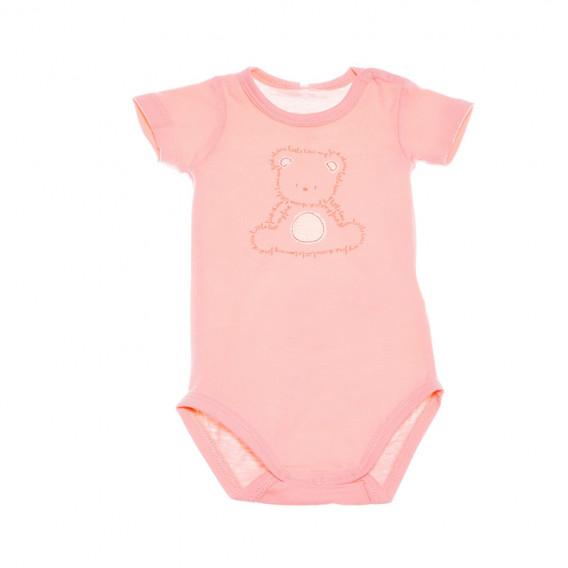 Боди с къс ръкав за бебе момиче Chicco 36348