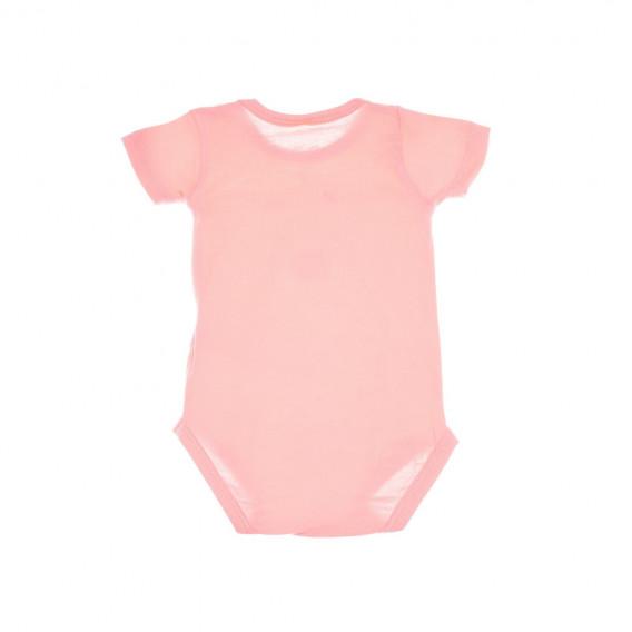 Боди с къс ръкав за бебе момиче Chicco 36349 2