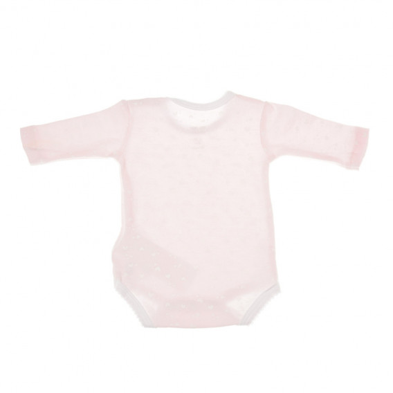 Комплект от 2 броя бодита с дълъг ръкав за бебе момиче Chicco 36352 2