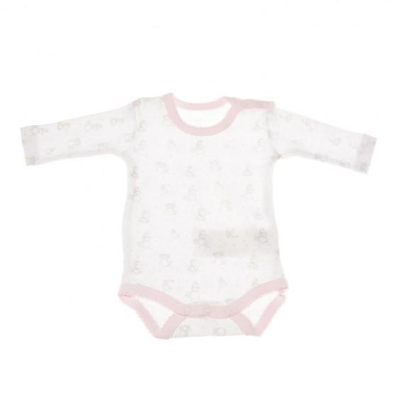 Комплект от 2 броя бодита с дълъг ръкав за бебе момиче Chicco 36353 3