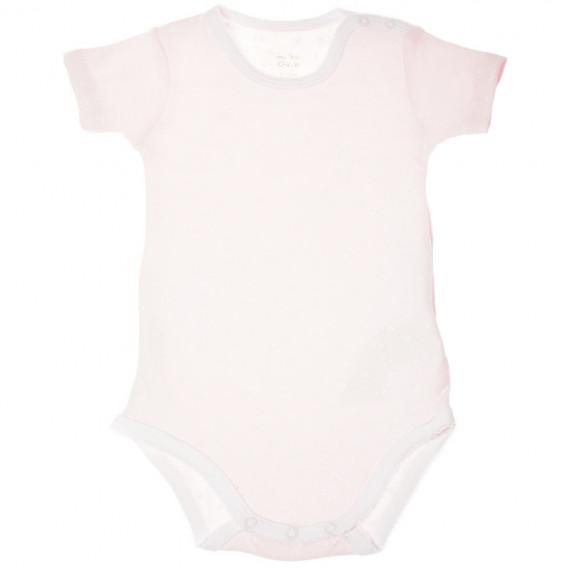 Kомплект 2 броя бодита с къс ръкав за бебе момиче Chicco 36354