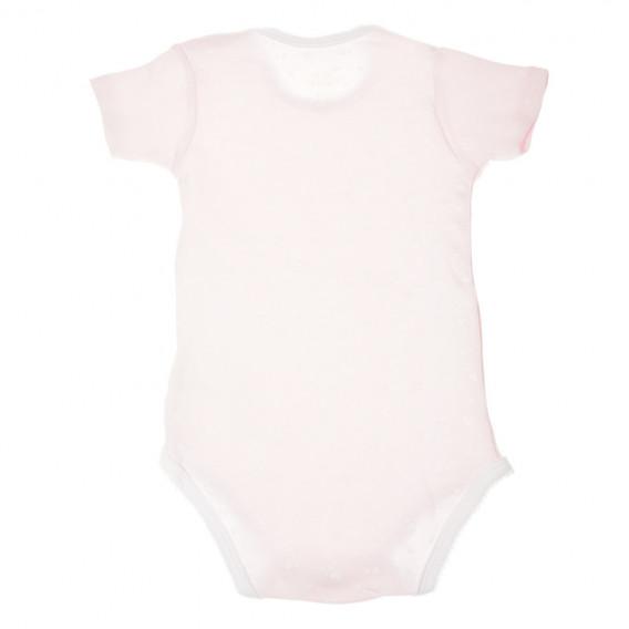 Kомплект 2 броя бодита с къс ръкав за бебе момиче Chicco 36355 2